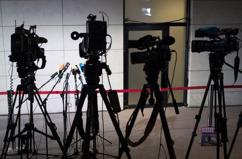 Fernsehkameras sind nur ein Teil der neuen Rundfunkwelt. Foto: dpa/Jörg Carstensen