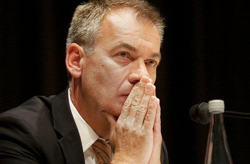 Mit polizeilichen Ermittlungen soll Guido Till jetzt unter Druck gesetzt werden. Foto: Horst Rudel