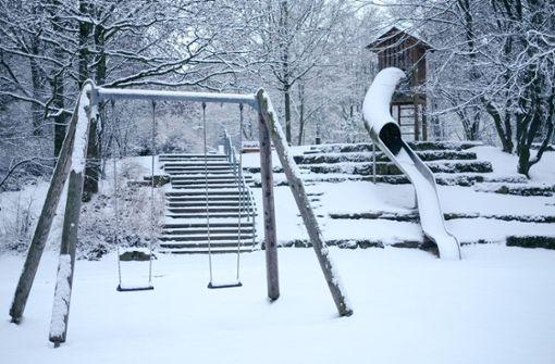 So viel Schnee ist selten