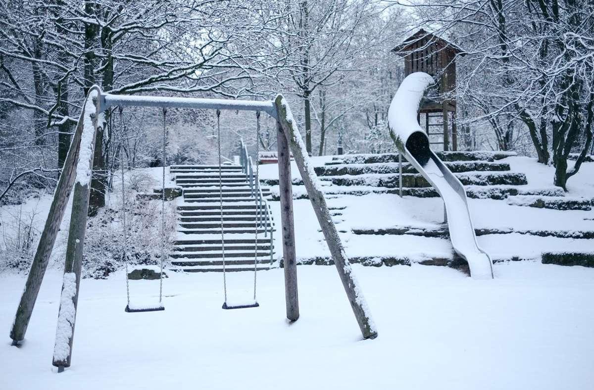 Da es im vergangenen Jahr fast kaum geschneit hat in Stuttgart, wirkt dieser Winter besonders weiß. Foto: Lichtgut/Max Kovalenko