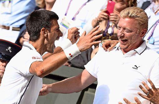 Novak Djokovic bietet Boris Becker seine Hilfe an