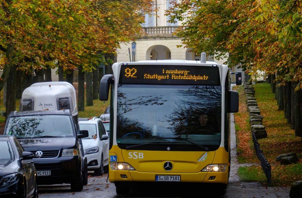 In ihren Bussen kann die SSB AG nicht das gesamte Ticketangebot verkaufen, weil die Automaten zu alt sind. Foto: Lichtgut/Achim Zweygarth