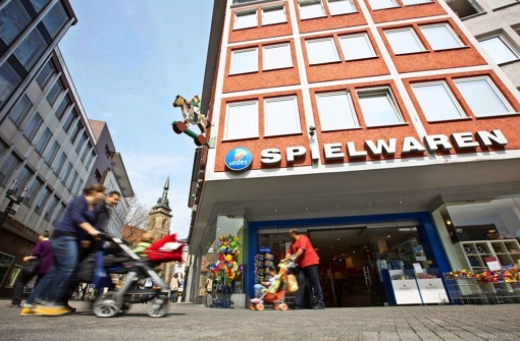 pielwaren Kurtz  setzt künftig auf die Sporerstraße. Foto: Michael Steinert