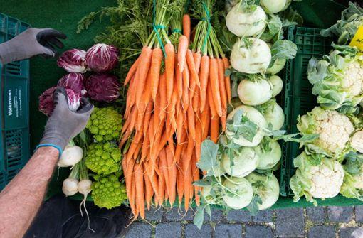 Tumult auf dem Möhringer Wochenmarkt