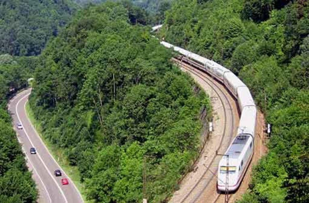 Die künftige ICE-Verbindung nach Ulm: ob diese auch ohne Stuttgart 21 verwirklicht werden könnte, ist offen. Foto: dpa