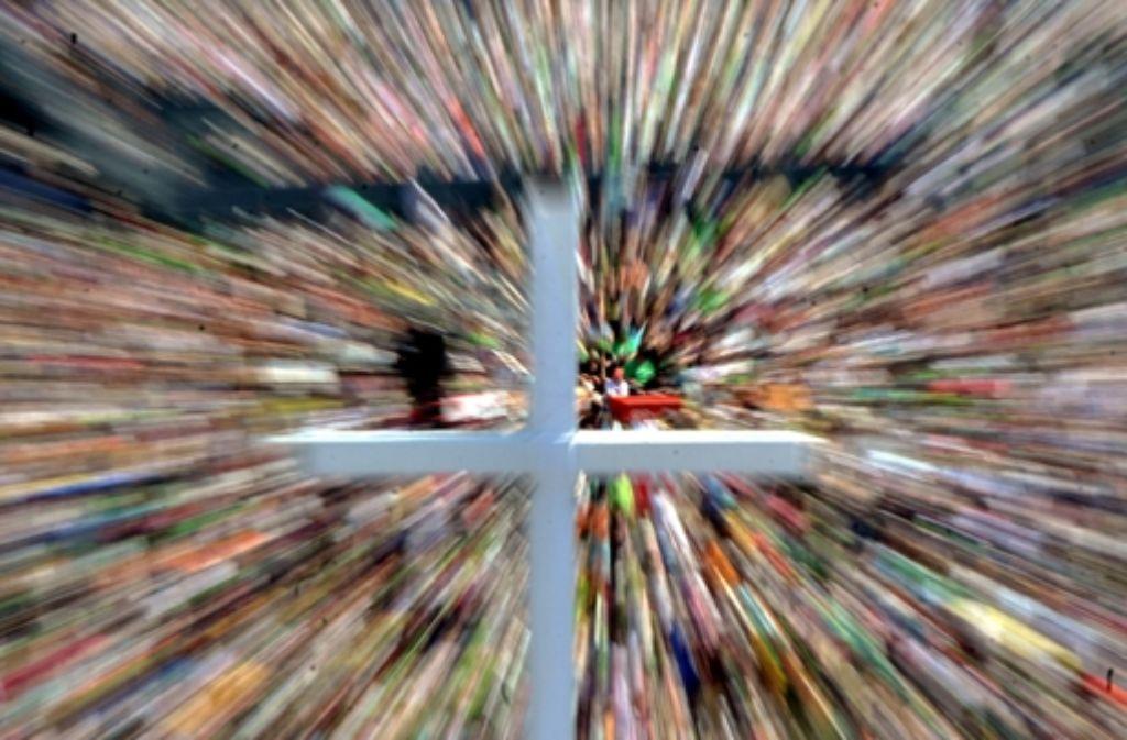 In der Stuttgarter Innenstadt, im Neckarpark und in Fellbach finden während des Kirchentags mehr als 2000 Veranstaltungen statt. Foto: dpa