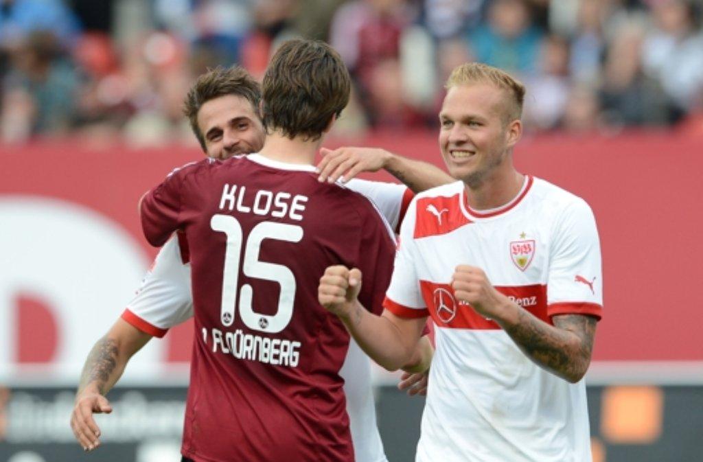 Rapahel Holzhauser kann mit  seinem Auftritt in Nürnberg zufrieden sein. Foto: dpa