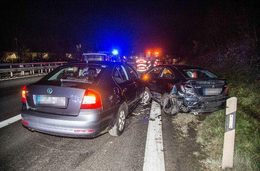 Fahrerin übersieht Unfall
