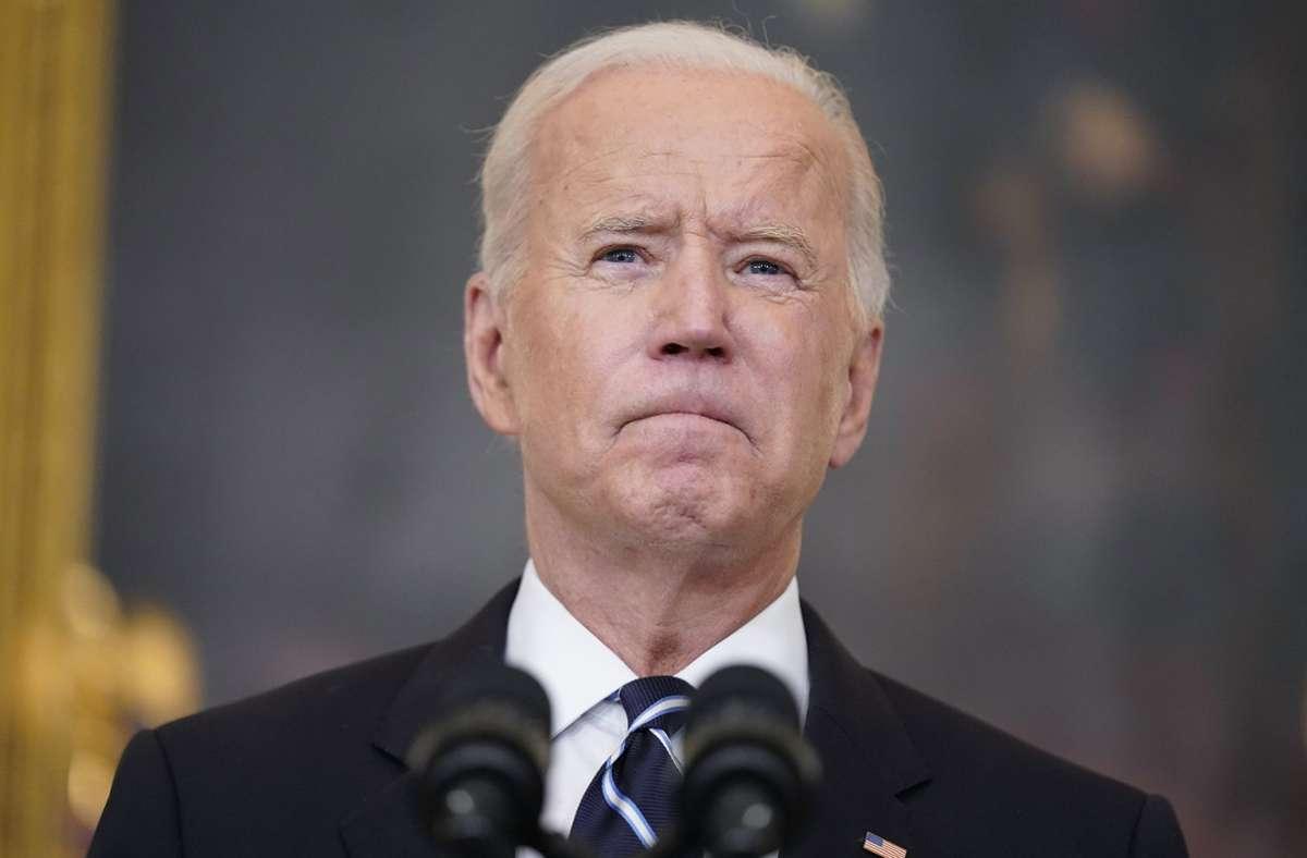US-Präsident Joe Biden Foto: dpa/Andrew Harnik