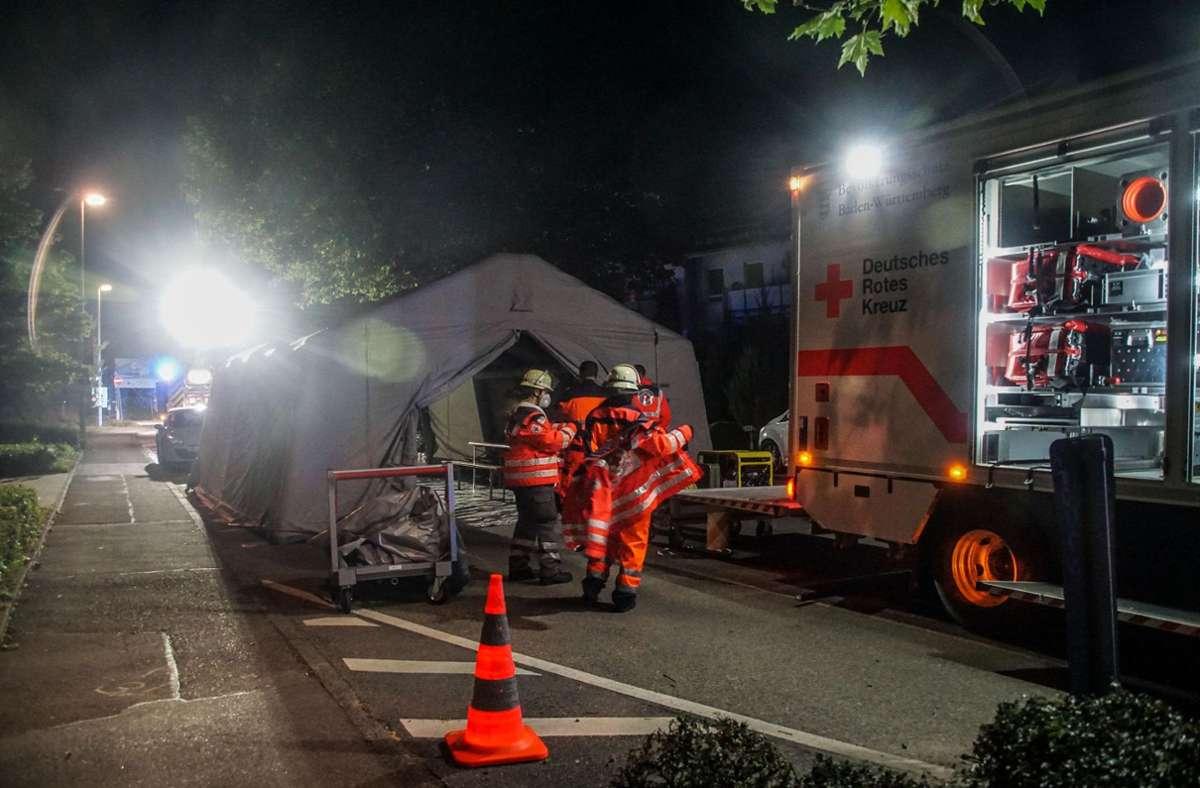 Feuerwehreinsatz in Herrenberg Foto: SDMG/SDMG / Dettenmeyer