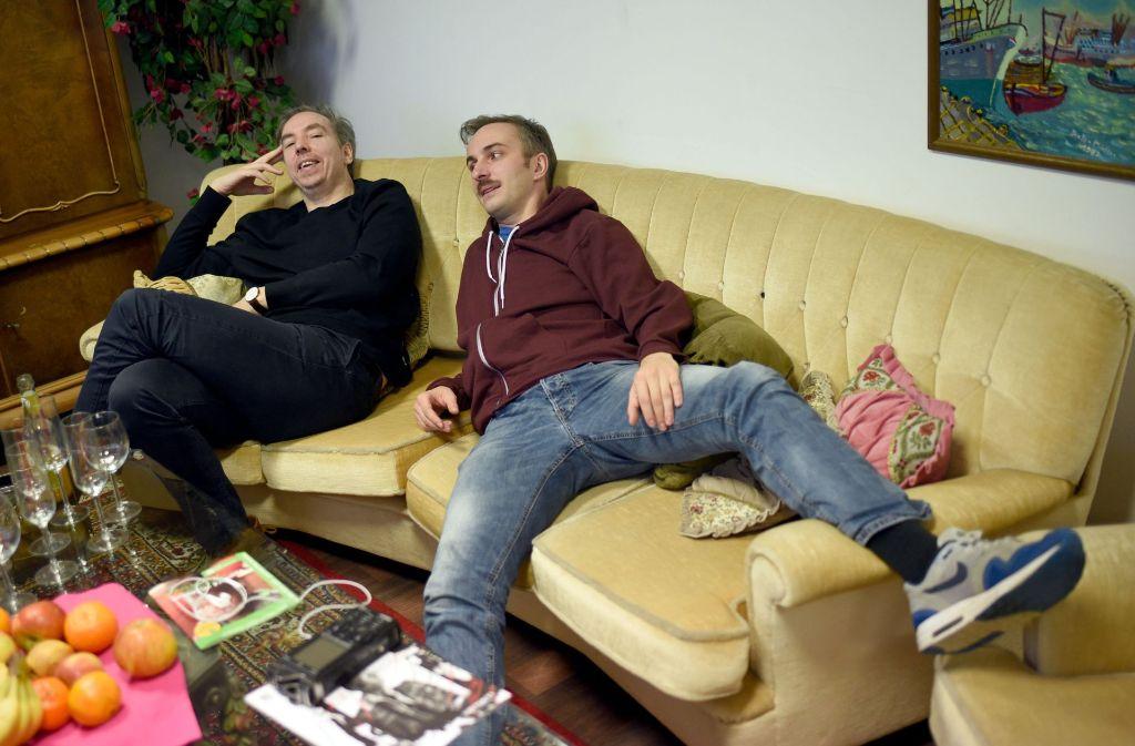 Olli Schulz (links) und Jan Böhmermann gehen wieder gemeinsam auf Sendung. Foto: dpa