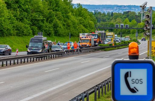 Unfall vor Kappelbergtunnel sorgt für Stau im Feierabendverkehr