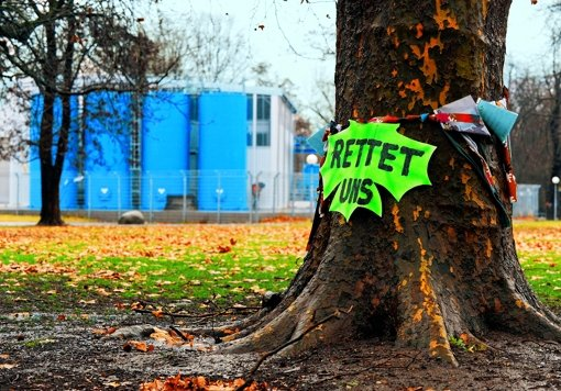 Der Zeitplan für die Baumarbeiten im Schlossgarten hakt an mehreren Stellen. Foto: dpa