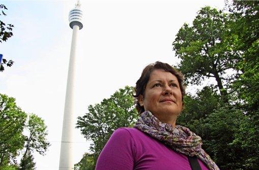 Bei Sturm hatte Christine Leonhardts Mutter Angst, dass der Fernsehturm umkippt. Der Vater, Fritz Leonhardt, hat sie dann beruhigt. Foto: Judith A. Sägesser