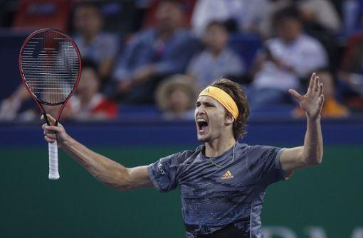 Alexander Zverev steht im Endspiel