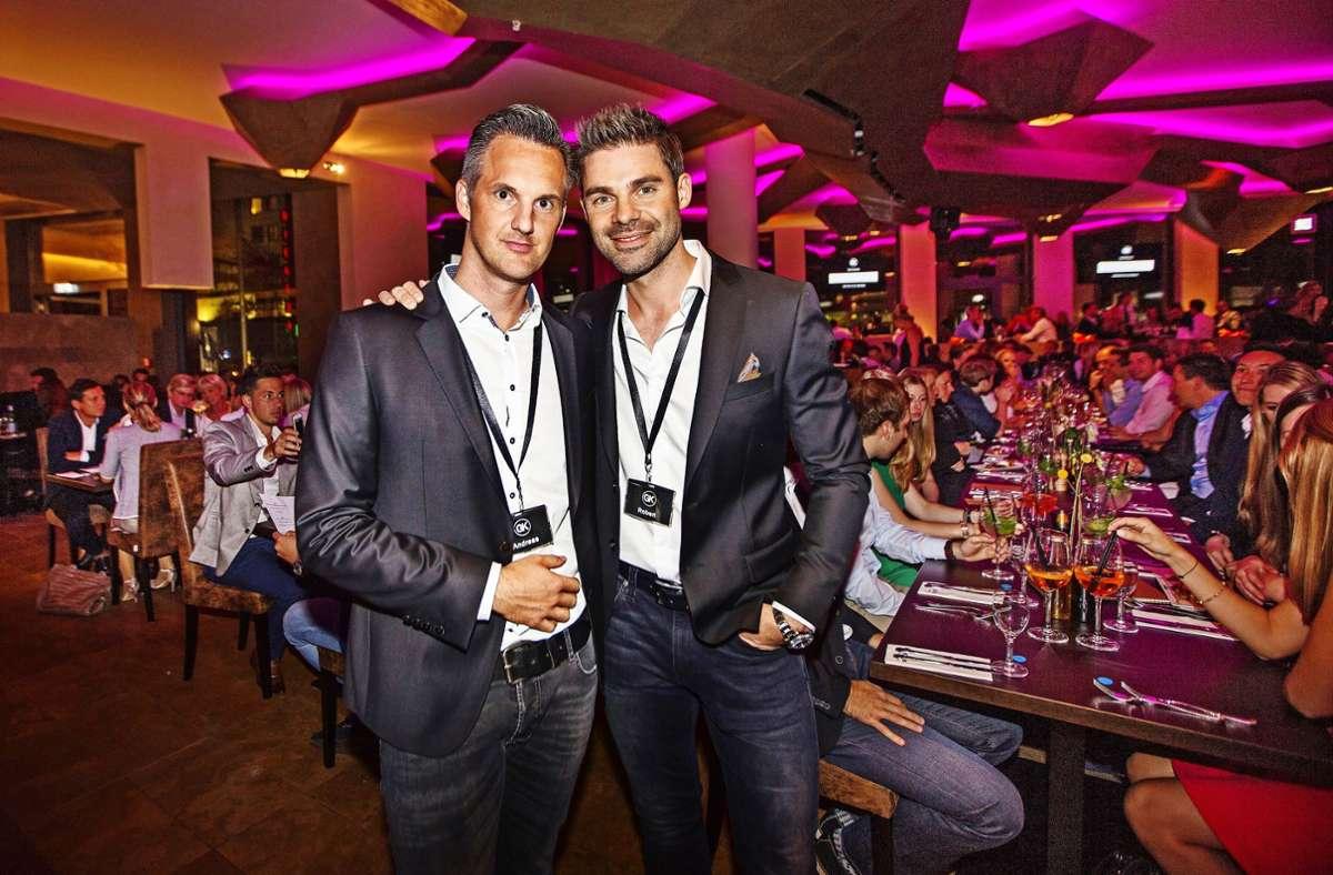 Andreas Keller (links) und Robert Fallbacher bei ihrer ersten Gala Foto: Ines /Rudel