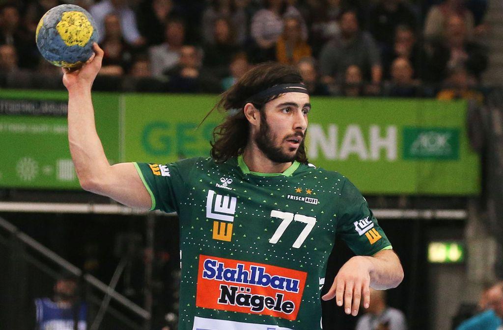 Seit vier  Spielen für Frisch Auf am Ball: Rückraum-Allrounder Pouya Norouzinezhad. Foto: Baumann
