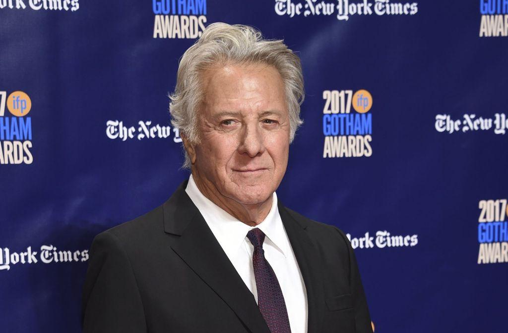 Dustin Hoffman wird sexuellen Fehlverhaltens beschuldigt. Foto: Invision/AP