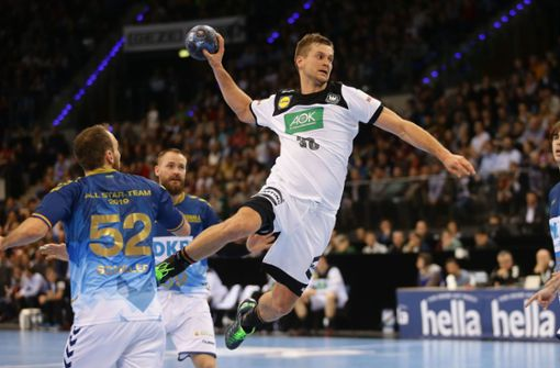 Handballer genießen Applaus des Stuttgarter Publikums