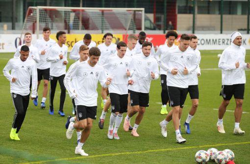 DFB-Team trainiert ohne angeschlagenen Marco Reus