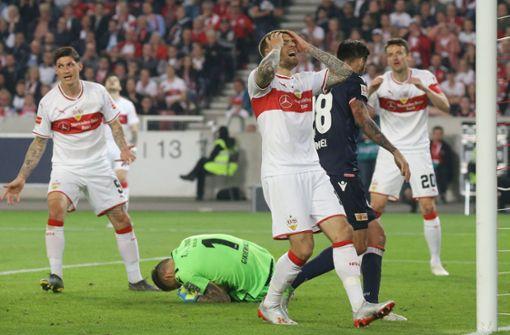 Der VfB Stuttgart enttäuscht – und zittert weiter