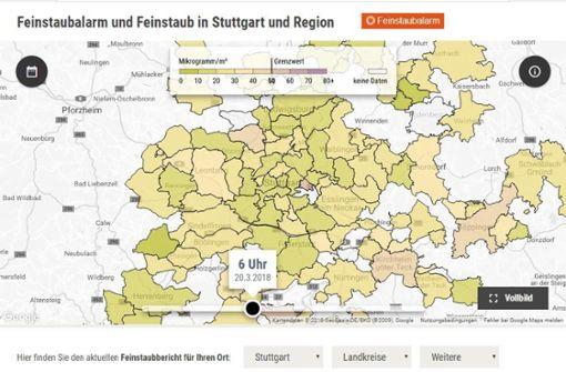 """Feinstaubradar ausgezeichnet: """"Big Data im Lokalen"""""""