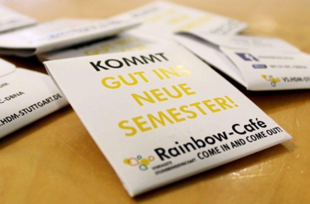 In der studentischen Gruppe Rainbow Café sind alle Farben der Sexualität willkommen. Foto: Rebecca Beiter