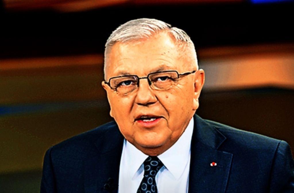 Harald Kujat war  von 2000 bis 2002 der 13. Generalinspekteur der Bundeswehr. Foto: dpa
