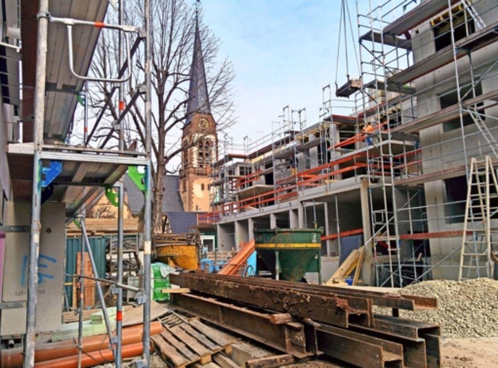Die entstehenden Wohnungen sind weitgehend barrierefrei. Foto: Jürgen Brand