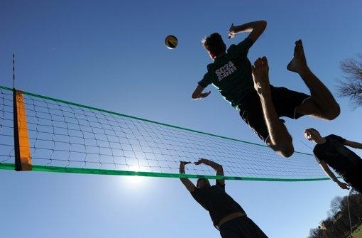 Volleyball in den Ferien