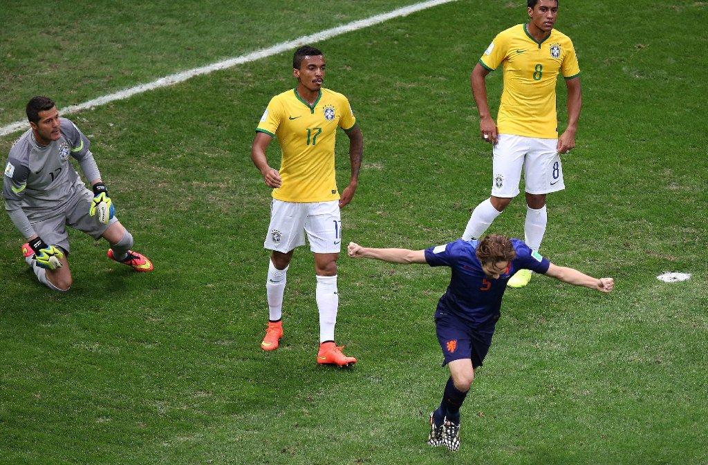 Brasilien - Niederlande Foto: dpa