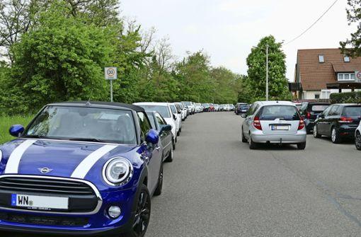 Ein  Stadtteil als Parkplatz