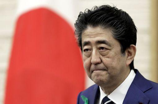 Japans Regierungschef will offenbar zurücktreten