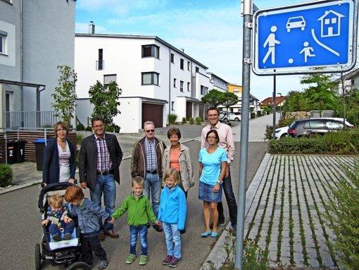 Schleichweg wird Spielstraße