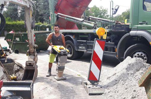 Straßen wegen Bauarbeiten gesperrt