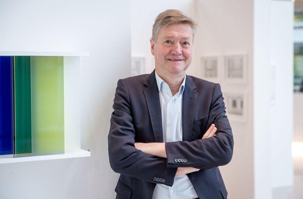 """""""Release und Kunst"""" ist eine  von Ulrich Binders unkonventionellen und erfolgreichen  Ideen. Foto: Lichtgut/Julian Rettig"""