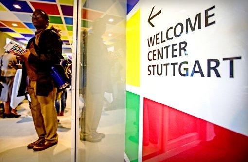 Stuttgarter Fachleute waren ebenfalls zur Eröffnung geladen. Dazu zählte auch  Paulino Miguel, entwicklungspolitischer Anschprechpartner beim Forum der Kulturen Stuttgart. Foto: Lichtgut/Leif Piechowski