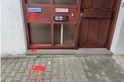 Unbekannte randalieren vor AfD-Büro