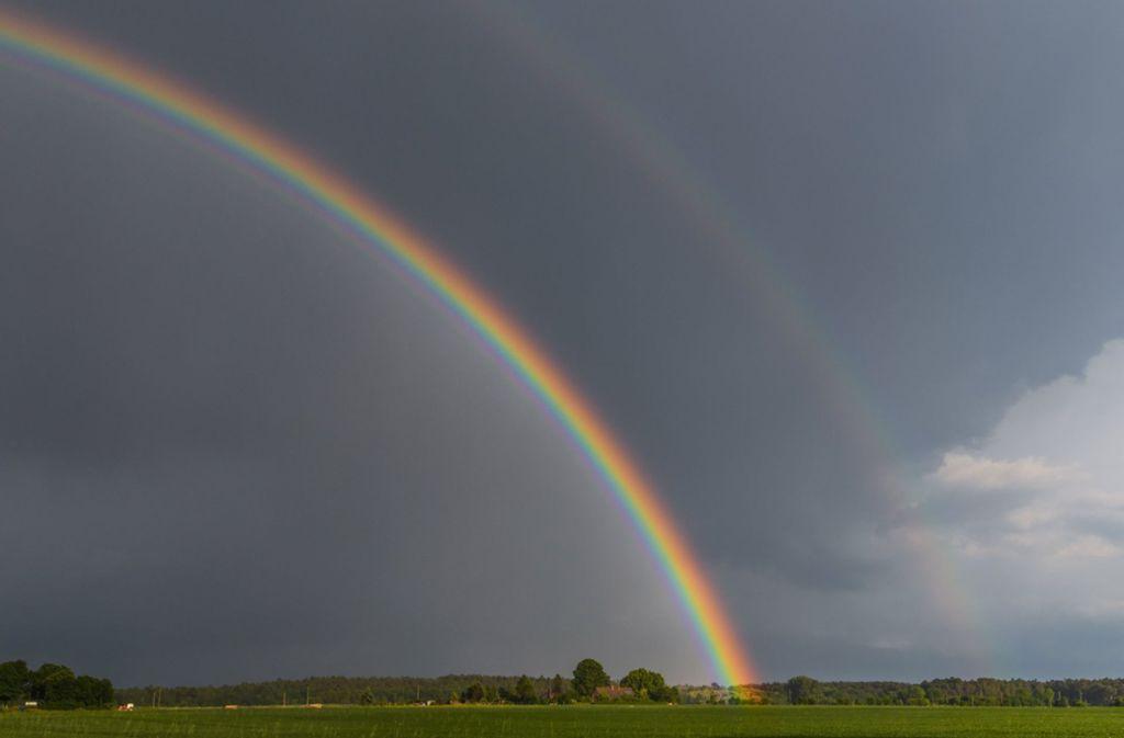Das Wetter im Südwesten wird vor Pfingsten recht wechselhaft. Foto: dpa-Zentralbild