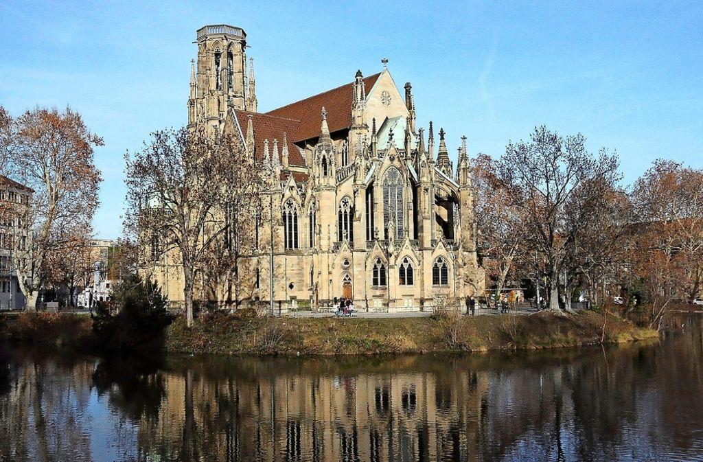 Die Johanneskirche wird künftig teil einer großen Gemeinde sein. Foto: Georg Linsenmann