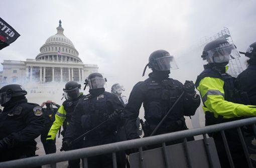 Kongresssitzung in Washington wegen Protesten unterbrochen