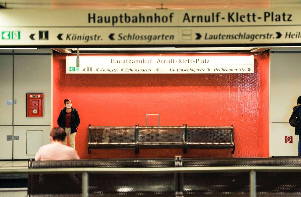 Im Lockdown bleiben bis zu 80 Prozent der Fahrgäste weg. Foto: Lichtgut/Max Kovalenko