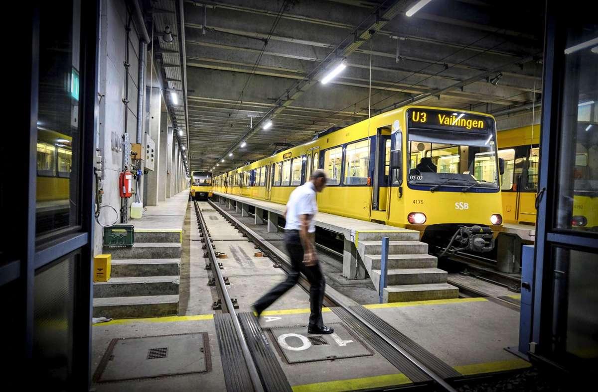 Eine Hochflurbahn braucht auch hohe Bahnsteige. Foto: LICHTGUT/Leif Piechowski