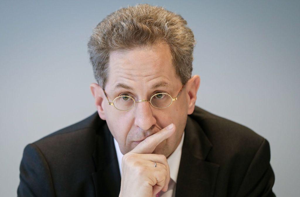In Bedrängnis: Hans-Georg Maaßen muss am Mittwoch im Bundestag antreten. Foto: dpa