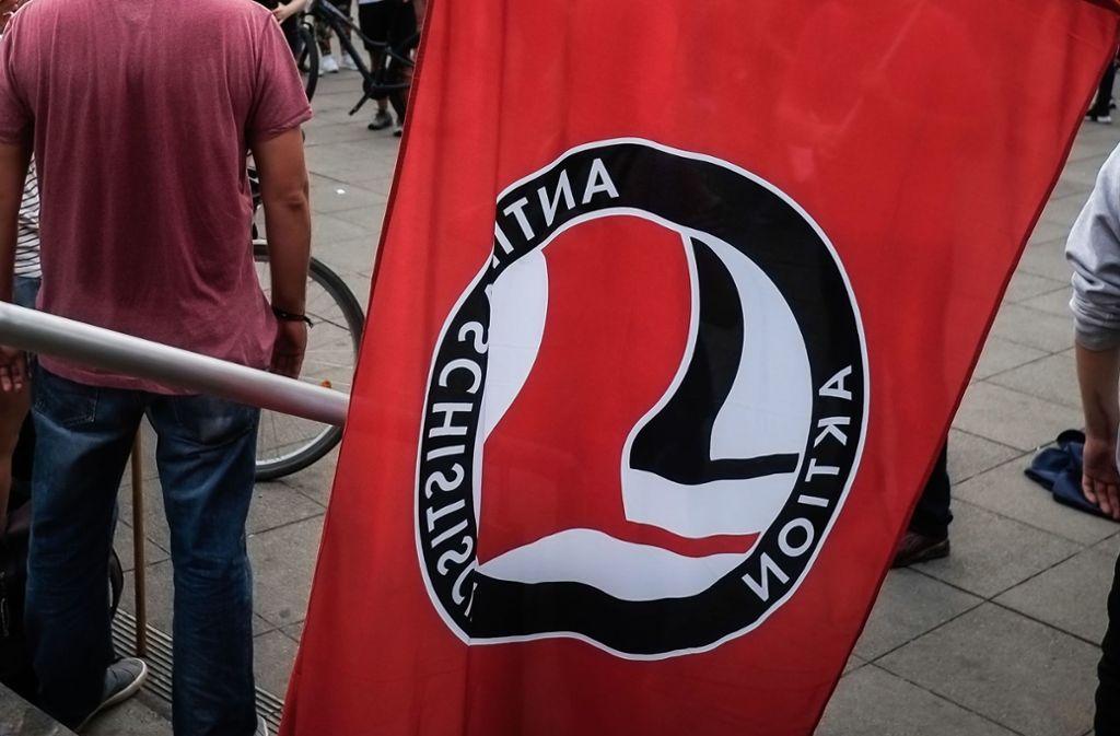 Auch die Antifa Stuttgart war bei der Demonstration beteiligt (Symbolbild). Foto: Lichtgut/Max Kovalenko