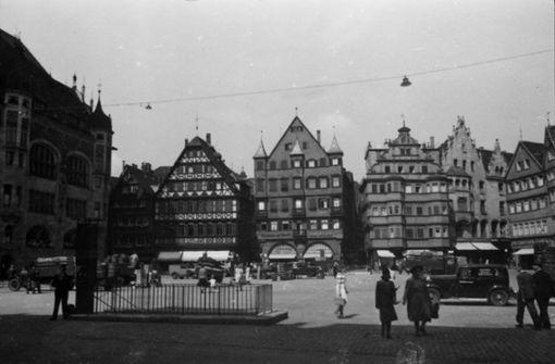War der Marktplatz früher hübscher?