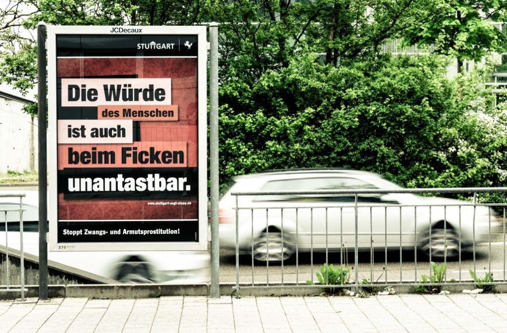 An Schulen wirken die Plakate der städtischen Kampagne mehr als deplatziert. Foto: Lichtgut/Leif Piechowski