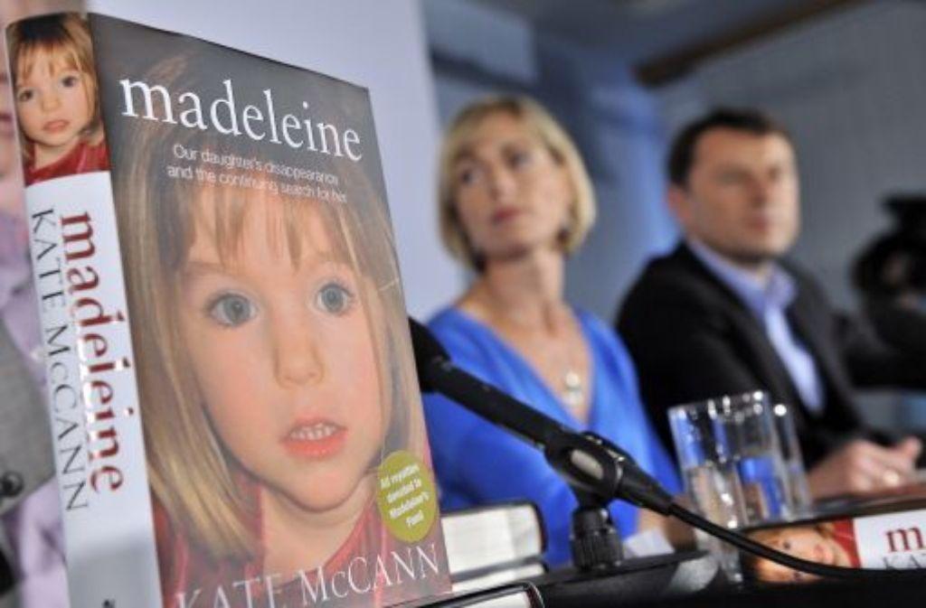 Kate und Gerry McCann suchen auch noch nach Jahren nach ihrer Tochter Madeleine. Foto: dpa
