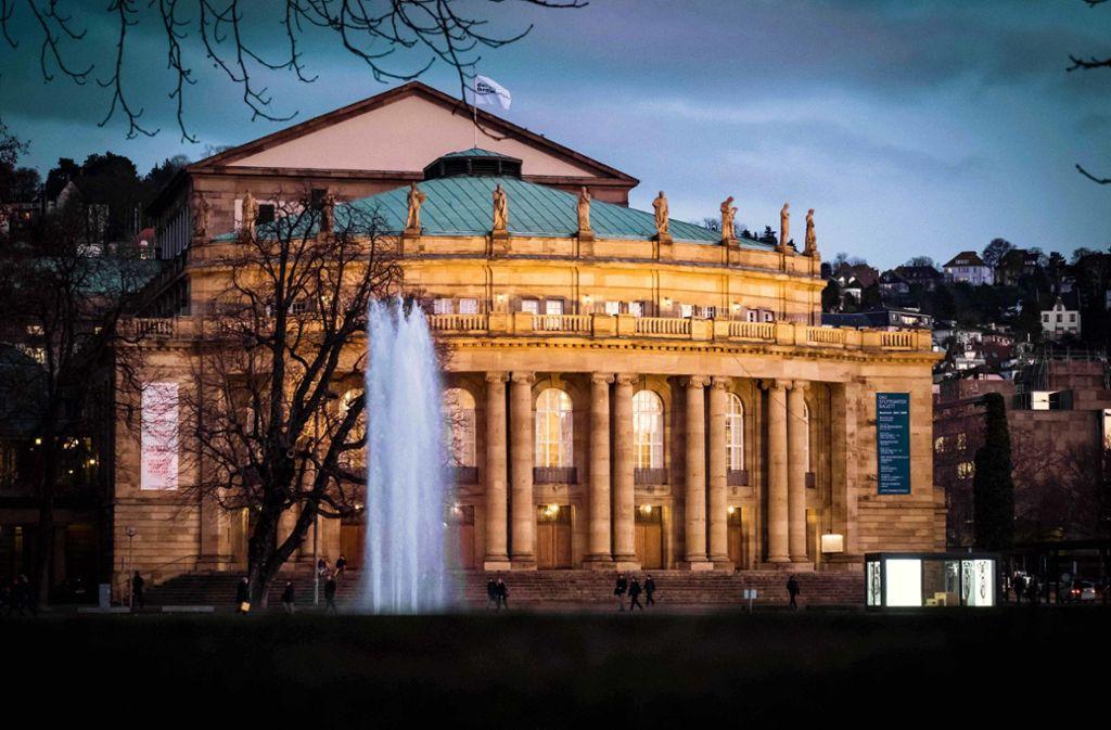 Die geplante Sanierung der Stuttgarter Staatsoper ist Thema des zweitägigen Bürgerforums Anfang März Foto: Lichtgut/Achim Zweygarth