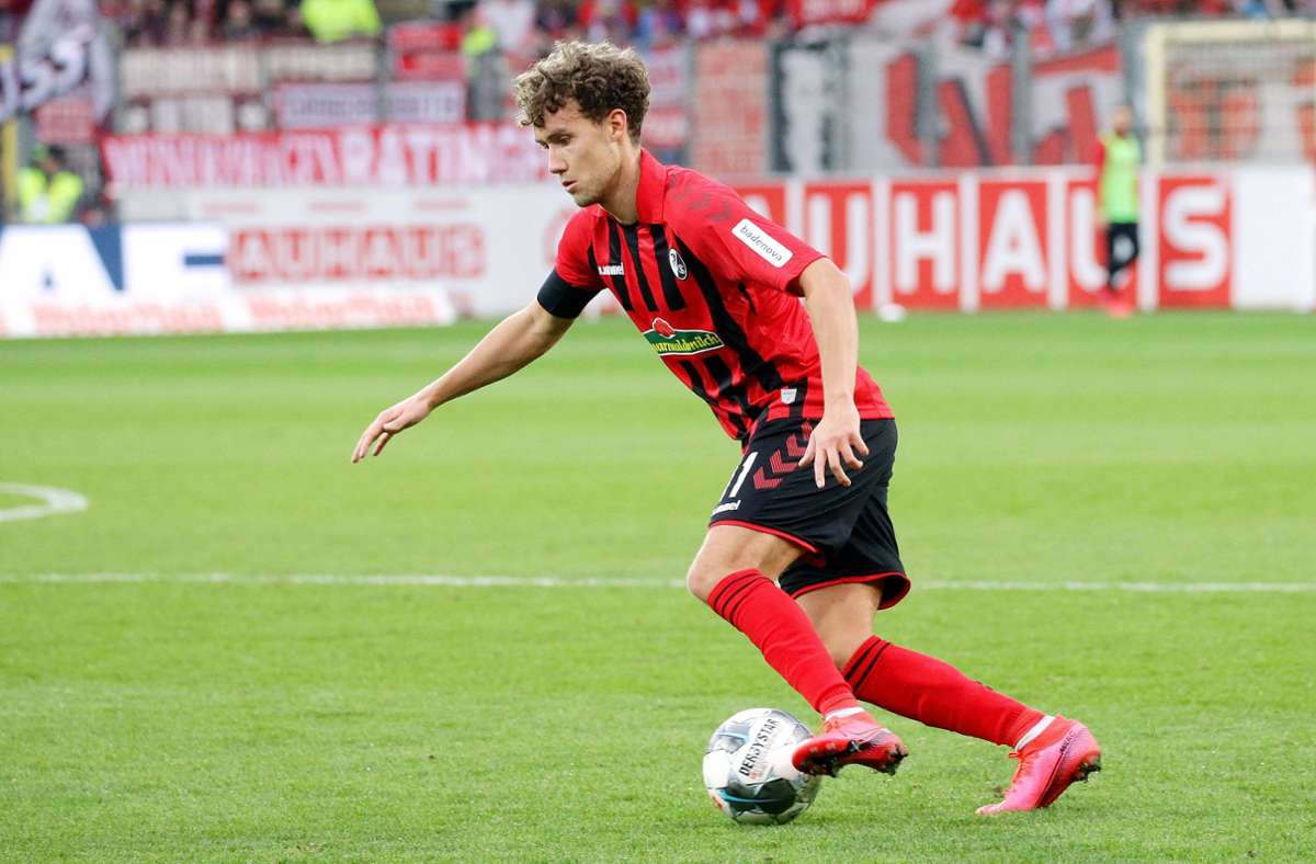 Luca Waldschmidt verabschiedet sich aus der Bundesliga. Foto: imago images/Pressefoto Baumann/Hansjürgen Britsch
